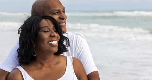Black Senior Couple