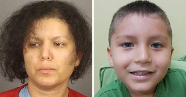 Hanane Mouhib and her son, Abraham Cardenas