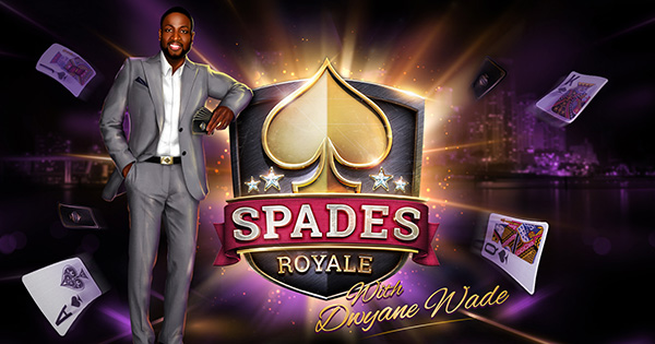 Dwayne Wade Spades Royale