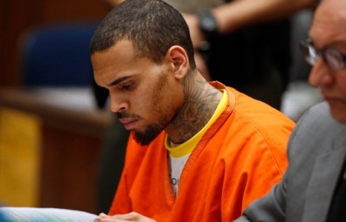 Chris Brown in Jail For One Month