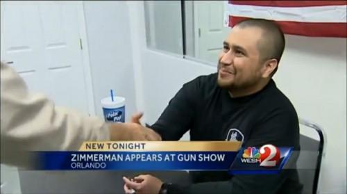 George Zimmerman at Orlando Gun Show