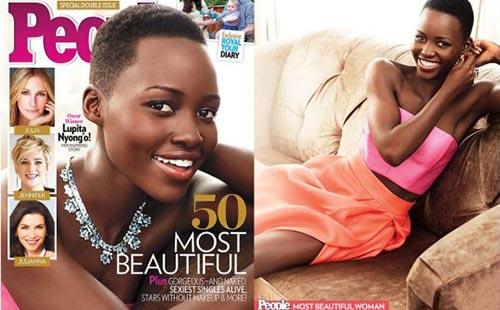 Lupita Nyong'o Most Beautiful People Magazine