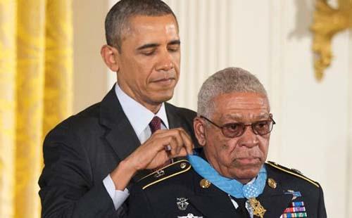 Obama Giving Black War Veteran Congressional Medal of Honor
