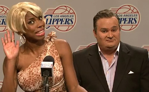 Donald Sterling Mocked on Saturday Night Live