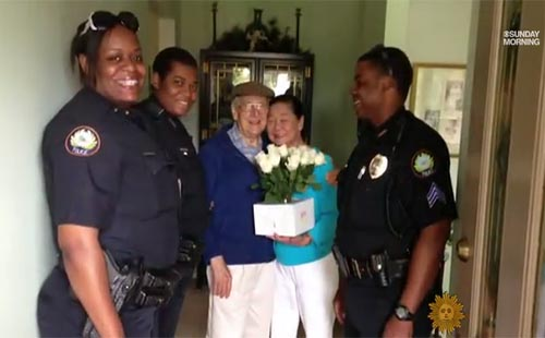 Police Assist Man With Alzheimers