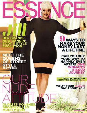 Jill Scott on Cover of Essence Magazine