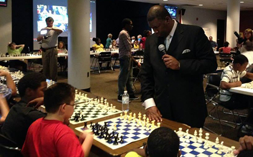 Orrin Hudson Trains Children in Alabama