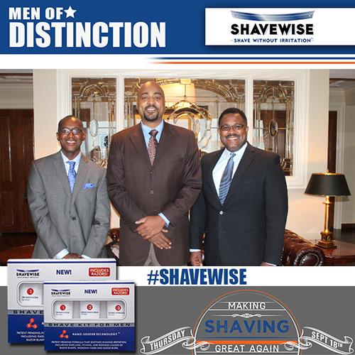 Shavewise Men of Distinction