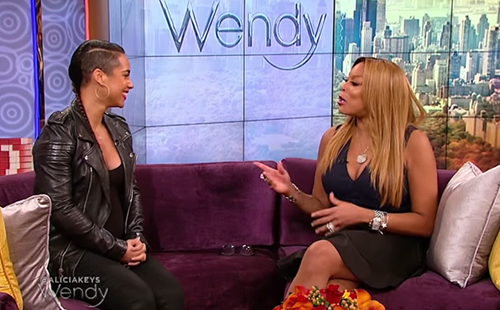 Alicia Keys interview on Wendy Williams