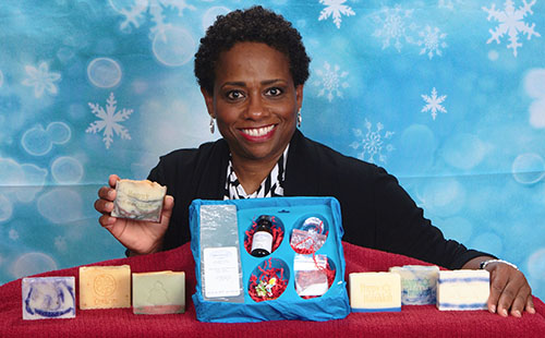 Dr. Marchita Masters, co-founder of Soap Fantastic