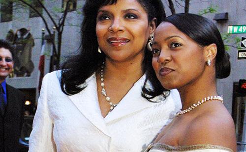 Phylicia Rashad and Keisha Knight-Pulliam