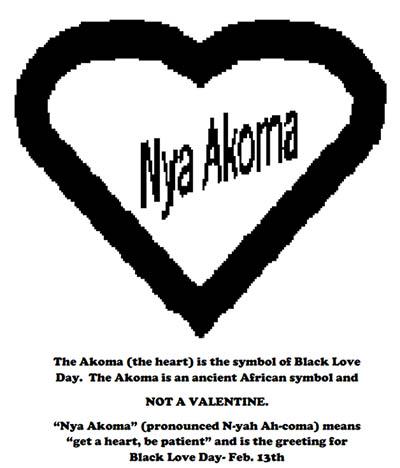 Nya Akoma Black Love