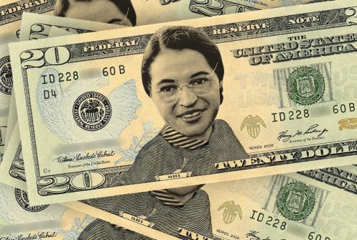 Rosa Parks on $20 Dollar Bill