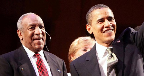 Bill Cosby and President Obama