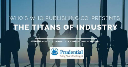 Who's Who Publishing Presents Titans of Industry presented by Prudential Financial