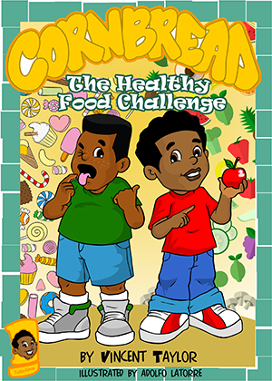 Cornbread Healthy Food Challenge by Vincent Taylor