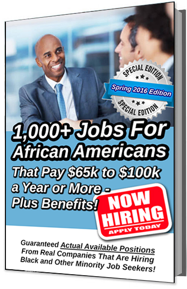 1,000+ Jobs for African Americans E-book