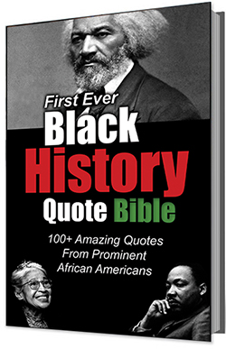 First Ever Black History Quote Bible