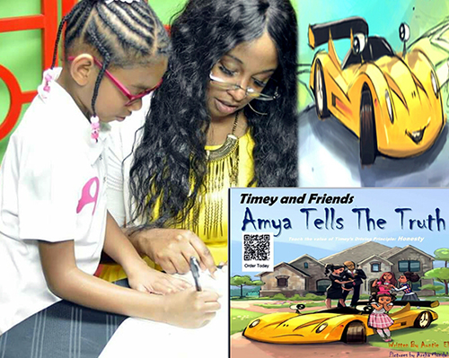 Timey and Friends Amya Tells the Truth by Elnora Gavin