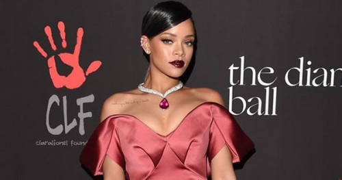 Rihanna Promoting Scholarship Program