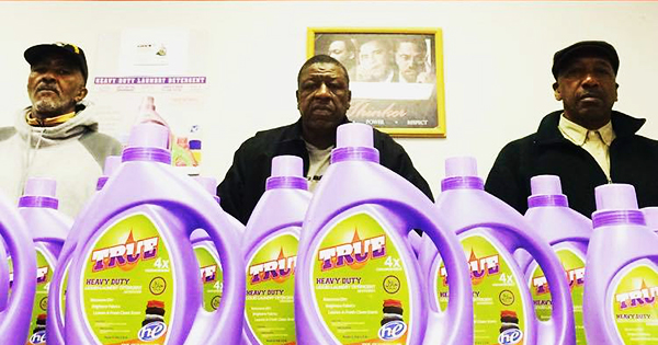 Founders of True Products Laundry Detergent