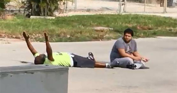 Charles Kinsey, unarmed Black man shot with hands up