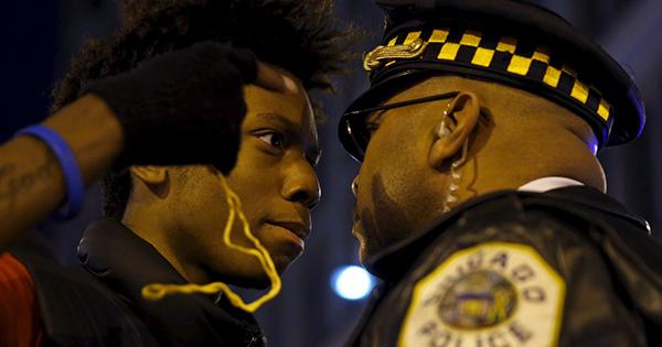 Black police stress