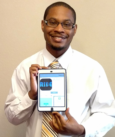 Michael Dewalt, founder of Ride App