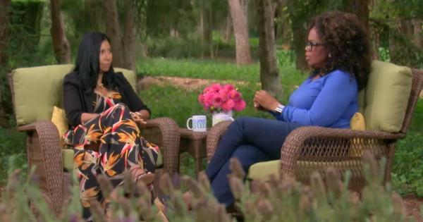 Oprah Winfrey interview with Cookie Johnson