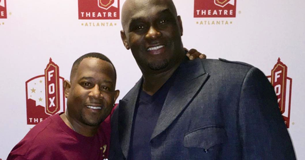 Actors Tommy Ford and Martin Lawrence