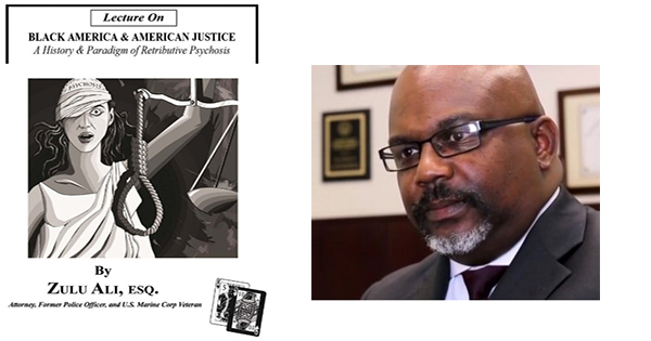 Attorney Zulu Ali and his book, Lecture on Black America and American Justice