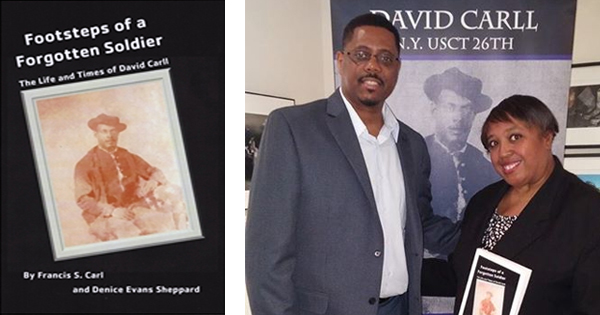 Footsteps of a Forgotten Soldier by Francis S. Carl and Denice Evans