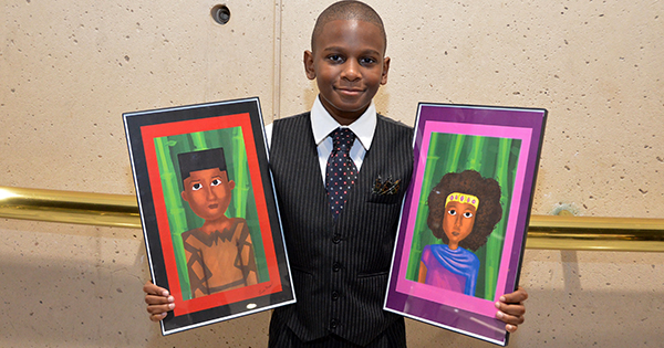 Leon Moss, founder of Arts For Kids Business