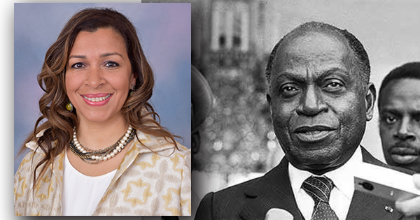 Stephanie Gregoire-McKinney, granddaughter of the first President of Cote D'Ivoire, West Africa