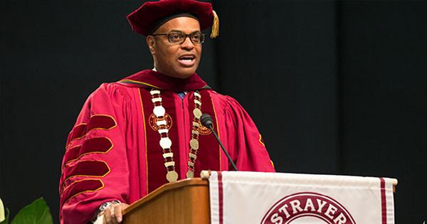 Bryan Jones, President of Strayer University