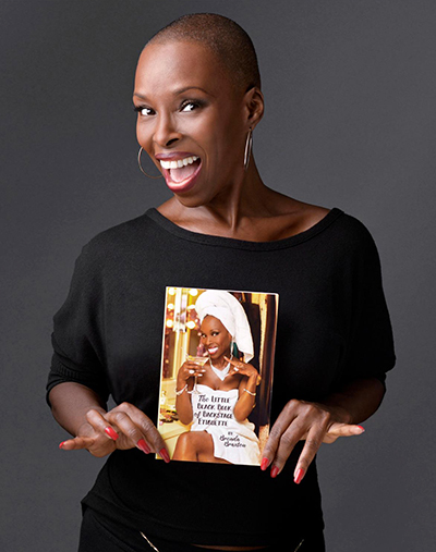Brenda Braxton, author of Little Black Book of Back Stage Etiquette