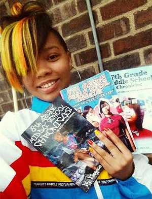 Essynce Moore, teen author