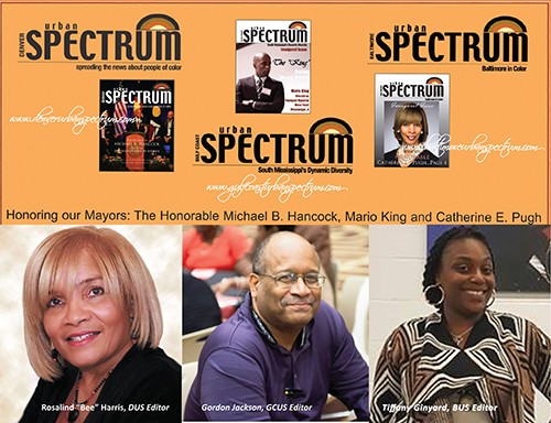 Founder and editors of Denver, Baltimore and Gulf Coast Urban Spectrums