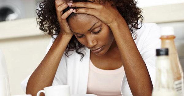 Divorced Black woman