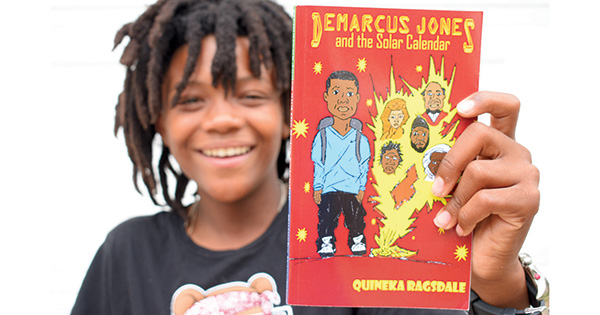 Demarcus Jones and the Solar Calendar by Quineka Ragdale