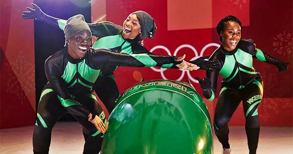 Nigerian women Bobsled team