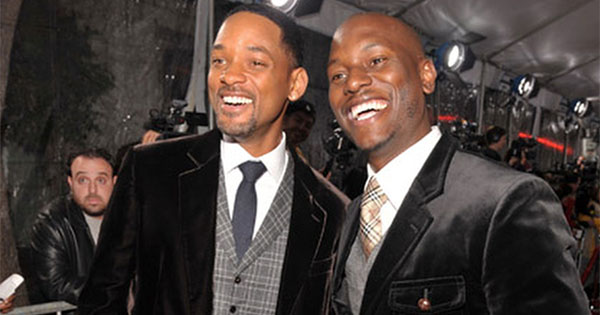 Tyrese and Will Smith
