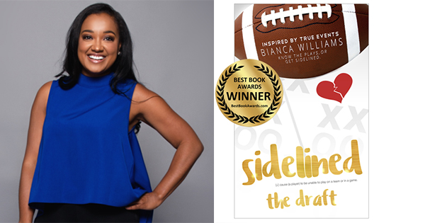 Bianca Williams, author of Sidelined The Draft