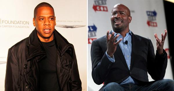 Jay-Z and Van Jones