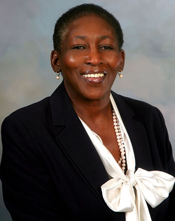 Dr. Shirley Ann Johnson, founder of the