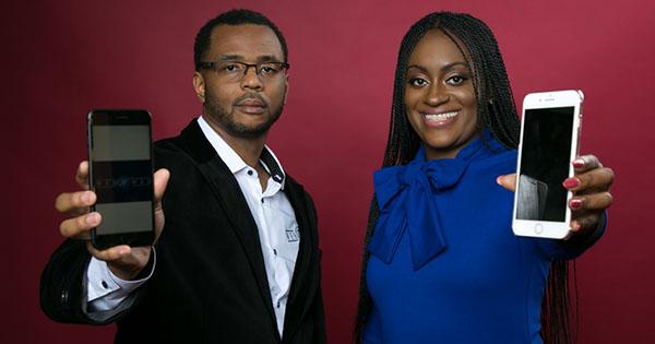 Founders of Black-owned app, WebWed