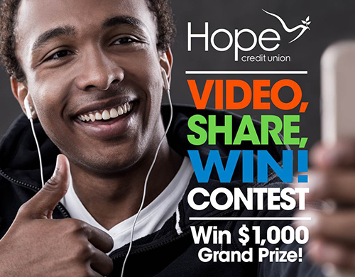 Hope Credit Union contest
