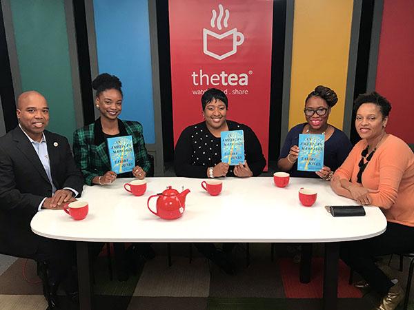 Cast of The Tea bookclub