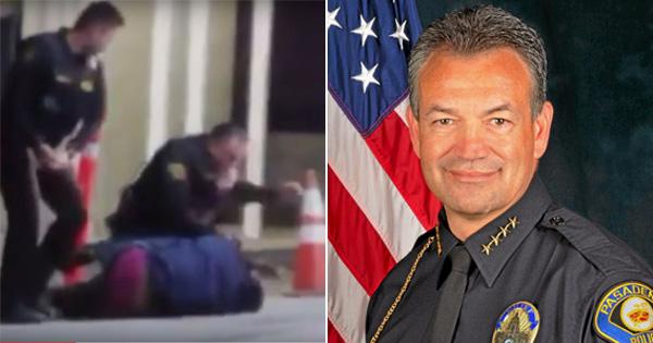 Pasadena Police Chief Phillip Sanchez