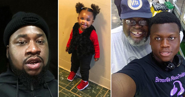 Terrance Briggs, his daughter Laylay, stepfather Loyed Drain Jr., and stepbrother Loyed Drain III